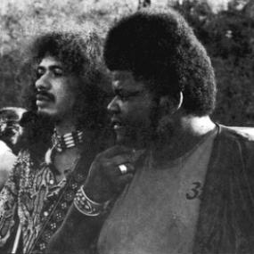 Carlos Santana y Buddy Miles