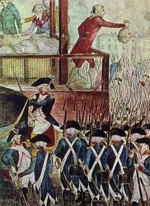 Robespierre ejecutado.