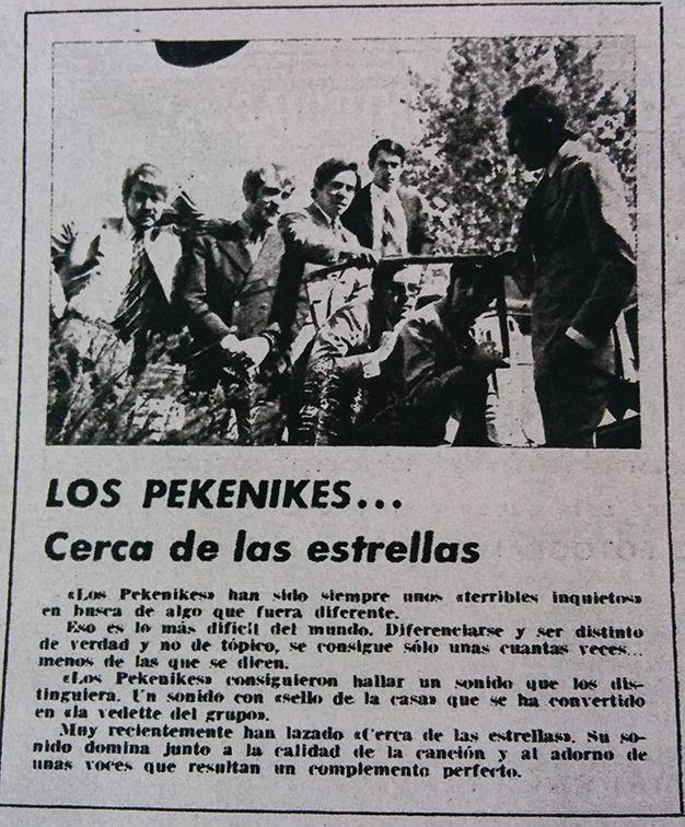 Pekenikes en Fotogramas: