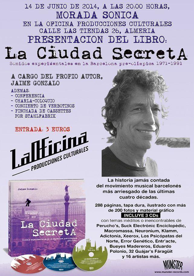 Presentación de 'La ciudad secreta' en Almería
