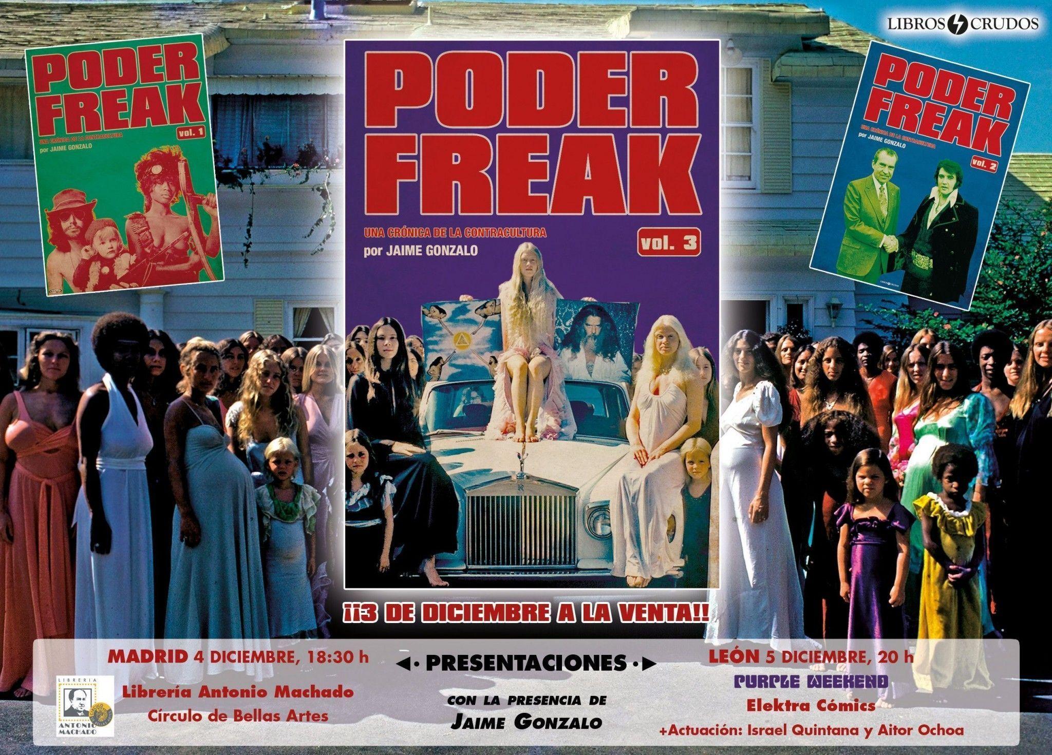 Presentaciones 'Poder freak vol. 3'
